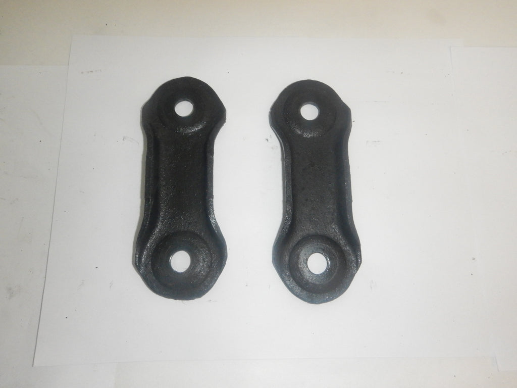 87-95 Wrangler YJ Jeep Leaf Spring Shackle Pivot Plate Set (2)