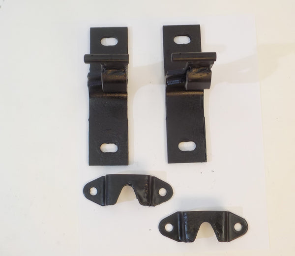 76-95 Wrangler YJ CJ Jeep Fold Tumble Rear Seat Bracket Assembly Set