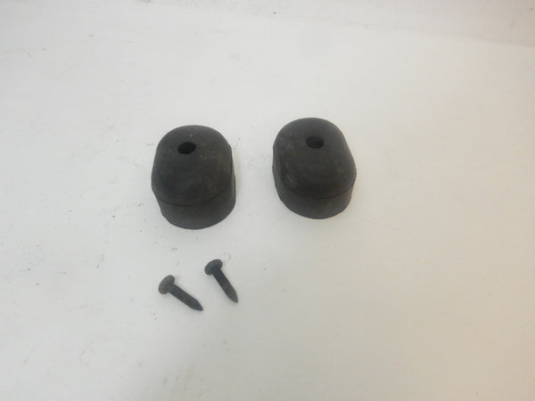 97-06 Wrangler TJ Jeep Tail Gate Tailgate Bumpers Bump Stop + Bolts Set of 2