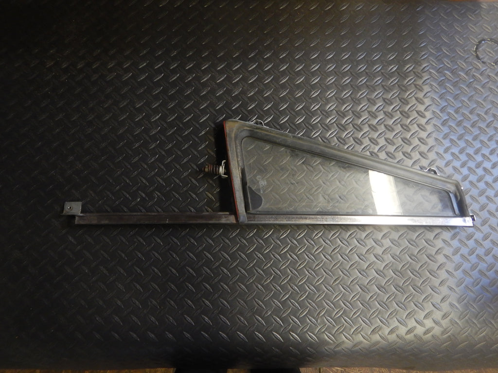 76-91 Wrangler YJ CJ Driver Full Door Vent Window Chrome