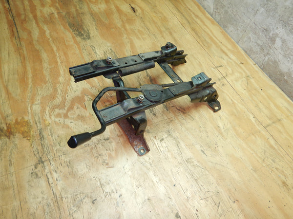 84-95 Cherokee XJ Jeep Driver Left Front Seat Bracket Set Slider Manual