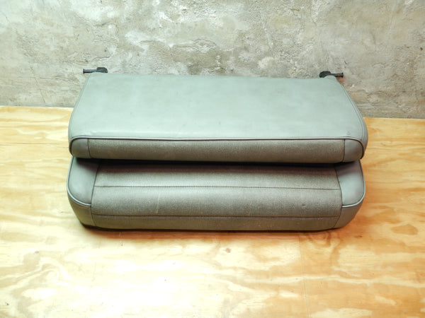 76-95 Wrangler YJ CJ Gray Fold and Tumble Vinyl Rear Seat Folding Grey
