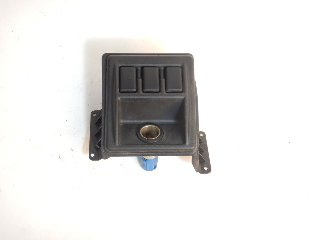 97-01 Wrangler TJ  Center Dash Bezel Switch Blanks Cigarette Outlet