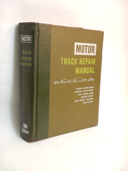 1975 Motor Truck Repair Service Manual 28th Edition  (Box 1)