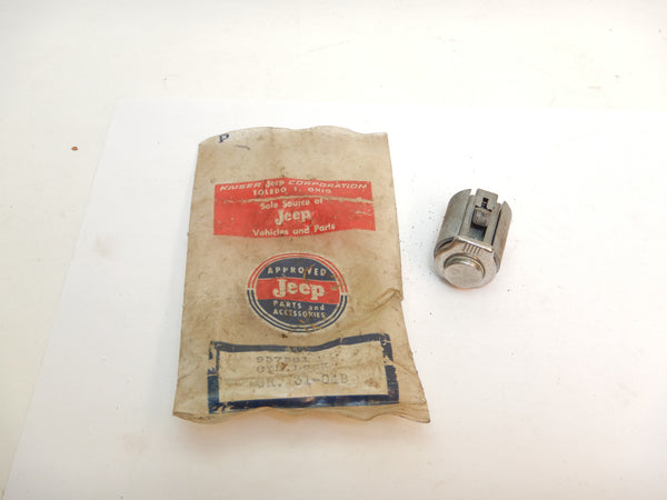 46-73 Jeep Willys Glove Box Lock Cylinder NOS Glovebox 957581