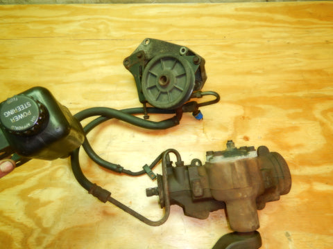91-95 Wrangler YJ Complete Power Steering Gear Box Pump Set-up