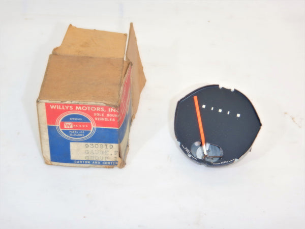 58-64 Willys Jeep NOS Fuel Gas Gauge 930819