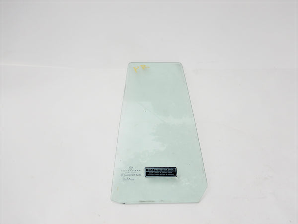 84-96 Cherokee XJ Jeep Passenger Right Rear Door Vent Glass Window