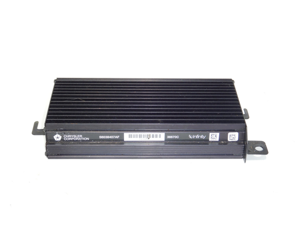 99-04 Grand Cherokee WJ Infinity Amp Amplifier Chrysler 56038407AG 56038407AD 56038407AC