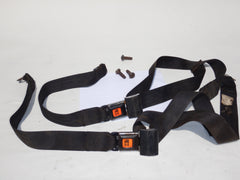 76-91 Wrangler YJ CJ Complete Rear Seat Lap Belt Seatbelts Set Bolts