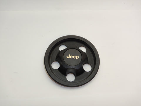 93-98 Grand Cherokee ZJ Wheel Hub Center Cap Black 52000153