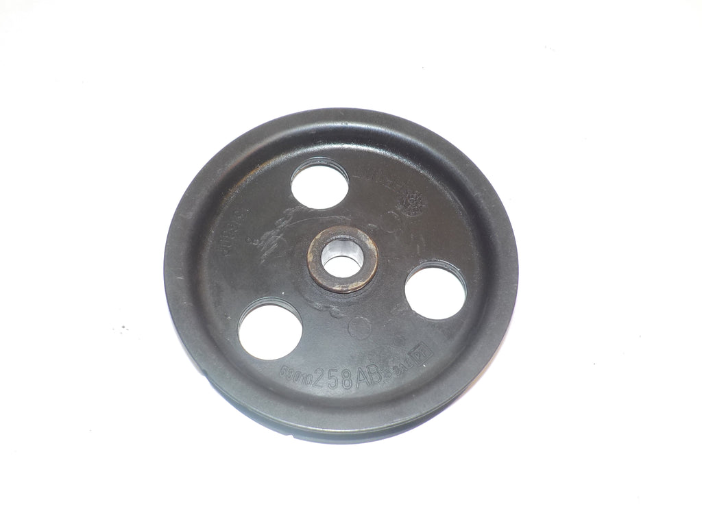 91-01 Cherokee XJ Jeep 4.0 Power Steering Pump Engine Pulley 53010258