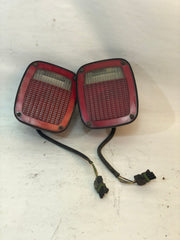 87-90 Wrangler YJ Jeep Tail Light Taillight Lamp Set Pair