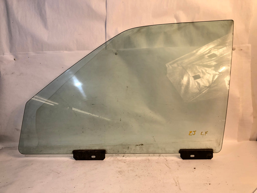 93-98 Grand Cherokee ZJ Jeep Driver Left Front Door Window Glass