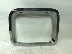 87-95 Wrangler YJ Jeep Chrome Head Light Headlight Driver Left Bezel Trim