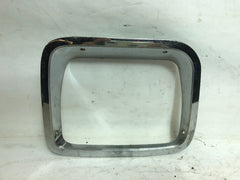 87-95 Wrangler YJ Jeep Chrome Head Light Headlight Passenger Right Bezel Trim