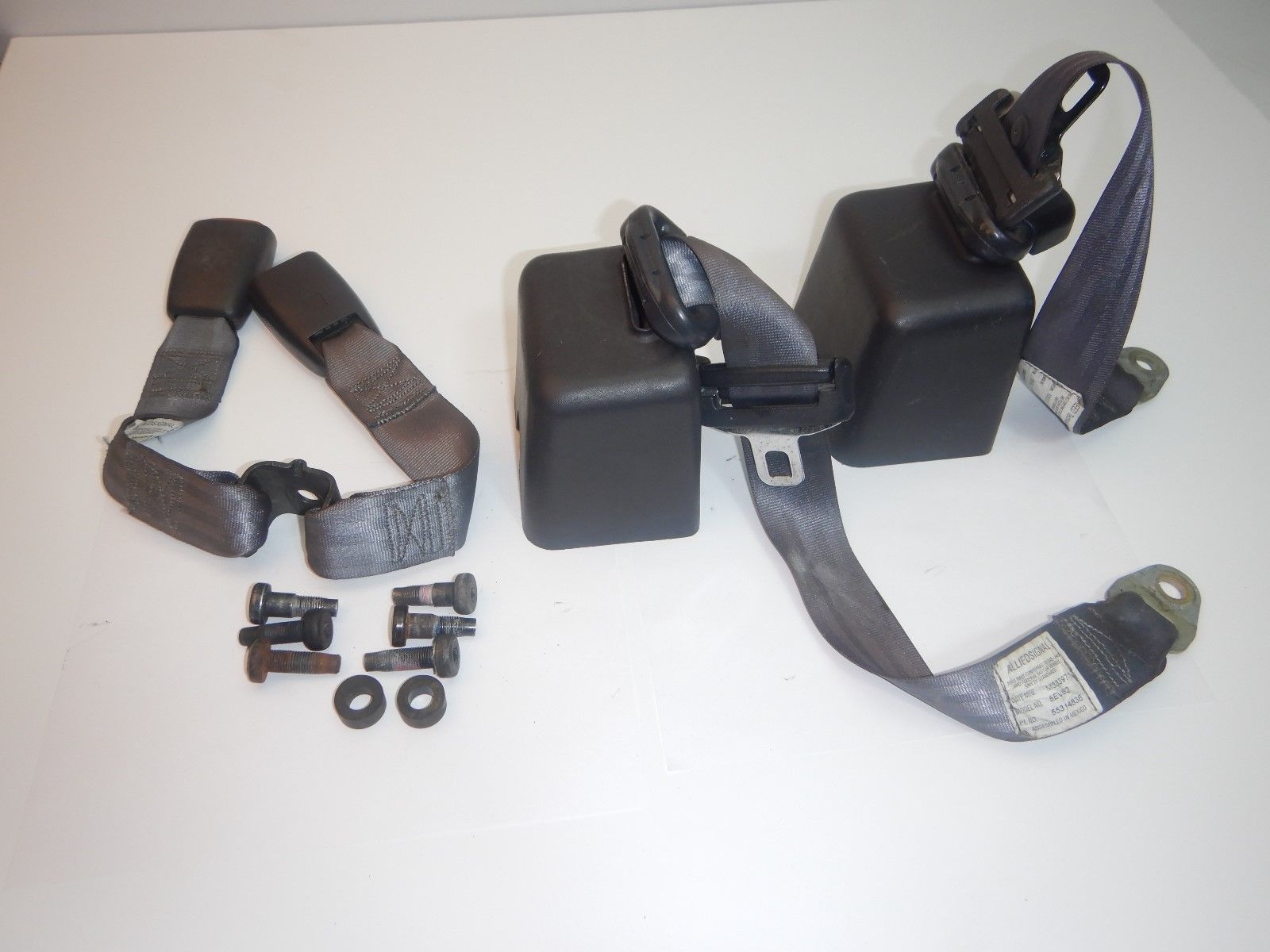 97-02 Wrangler TJ OEM Complete Rear Seat Belts Assembly Set
