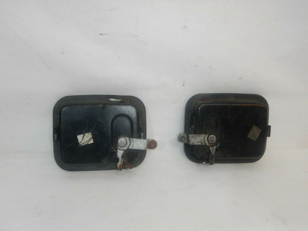 87-95 Wrangler YJ Full Hard Door Handles Black Handle Set