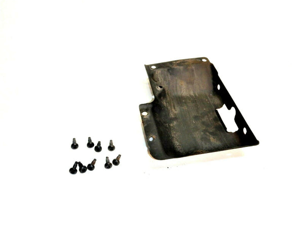 87-02 Wrangler YJ TJ Tail Gate Tailgate Latch Cover + 9 Torx Screws