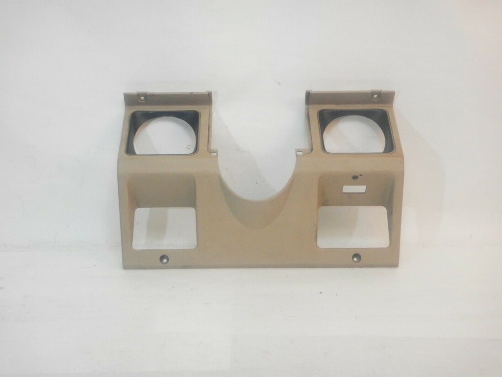 87-95 Wrangler YJ Jeep Steering Column Dash Bezel Insert Sand Light Tan