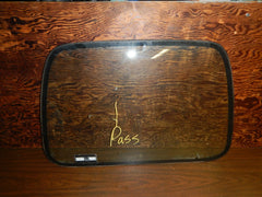 87-95 Wrangler YJ Jeep Hard Top Window Glass Clear Passenger Right