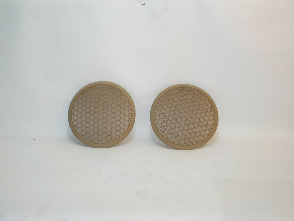 97-01 Cherokee XJ Jeep Roof Speaker Cover Pair Tan