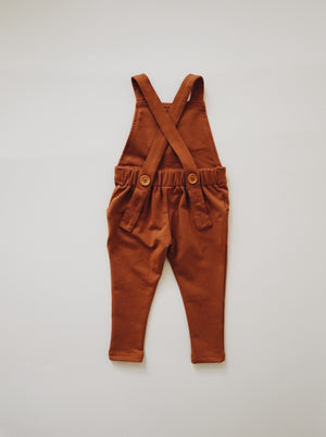 Long Overalls - Russet