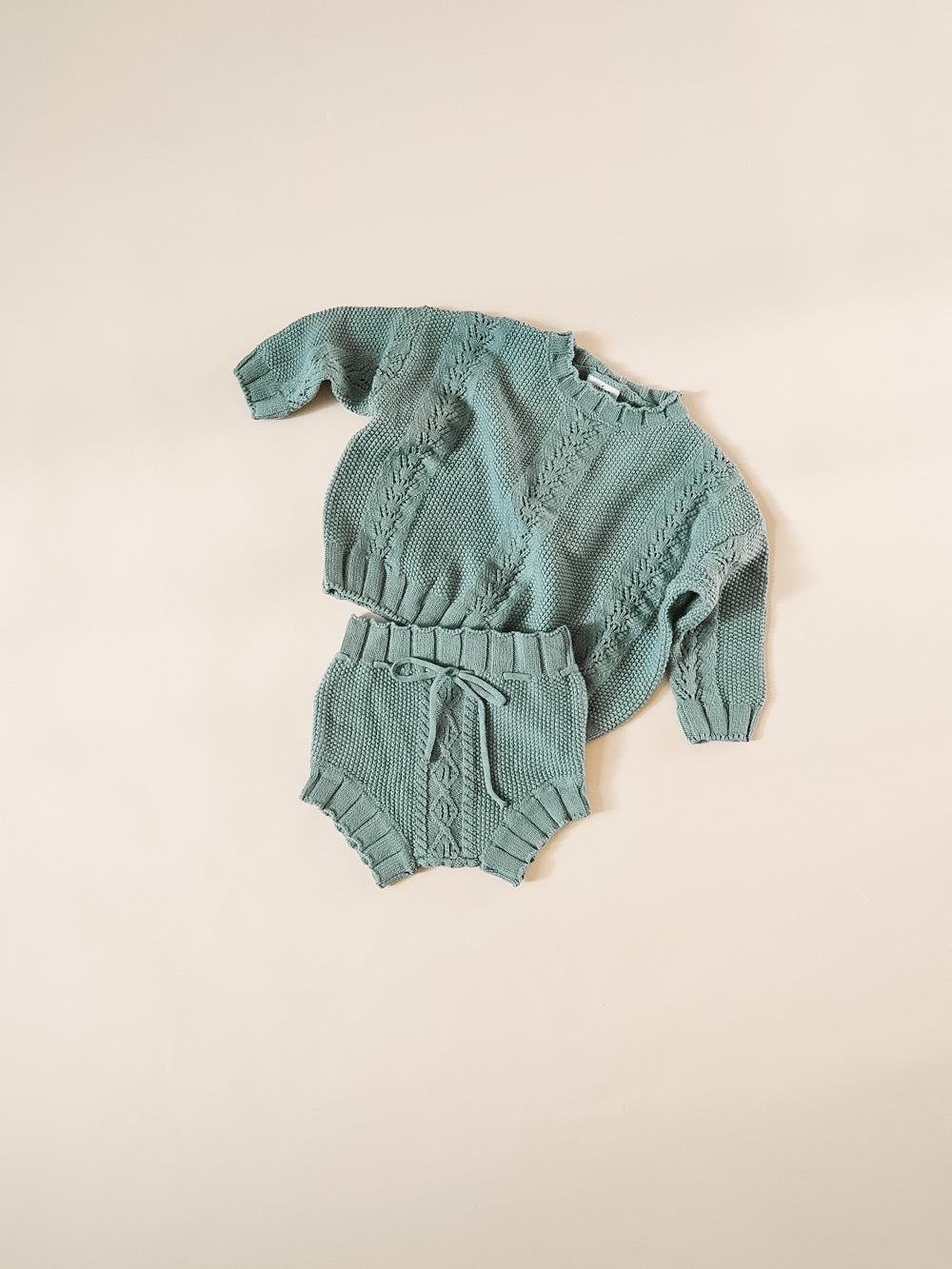 Knit Bloomer - Dusty Teal