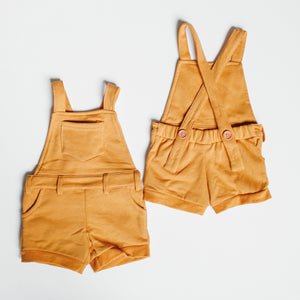 Short Overalls - Goldenrod