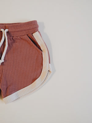 Retro Shorts - Terracotta