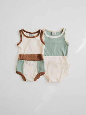 Ribbed Bodysuit - Cream