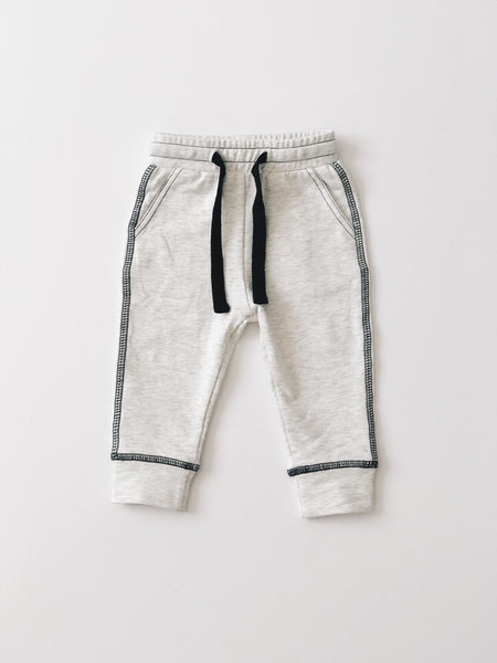Pocket Joggers - Heather Grey