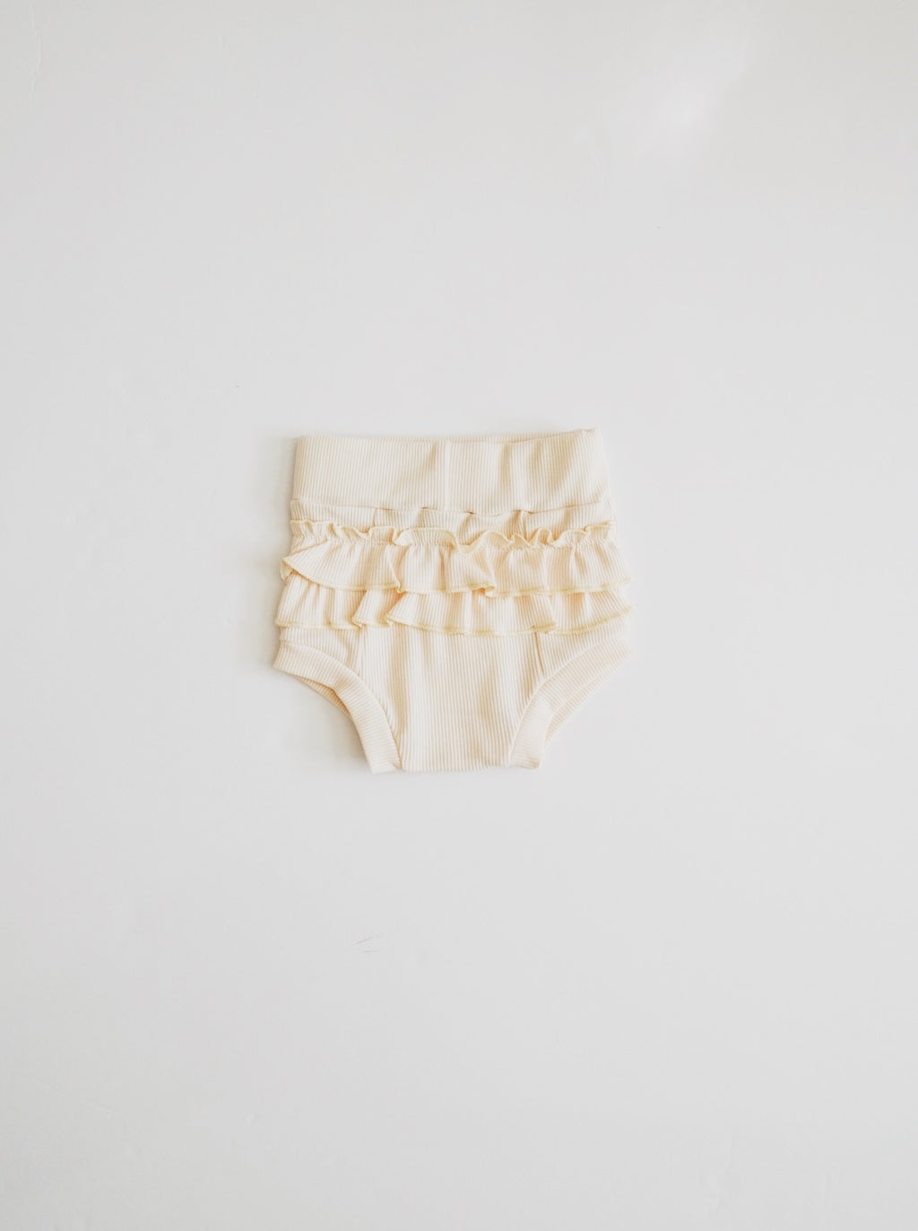 Ruffle Bloomer - Cream