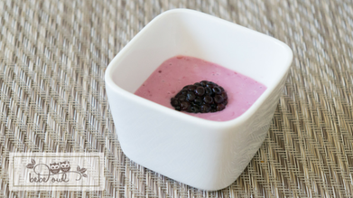 Small Bites | Blackberry Banana Puree