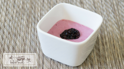 Blackberry Banana Puree