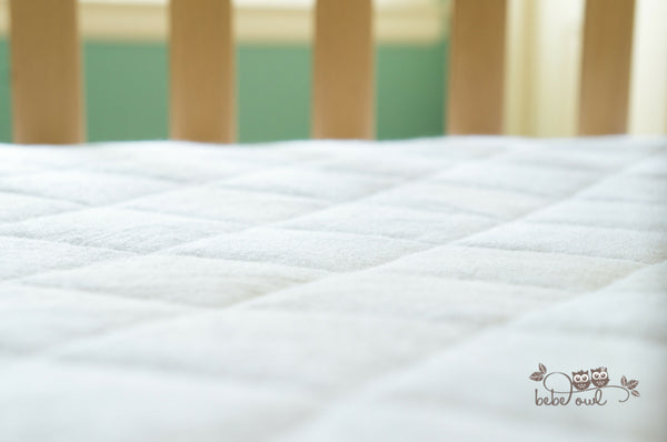 Waterproof Bamboo Crib Mattress Cover
