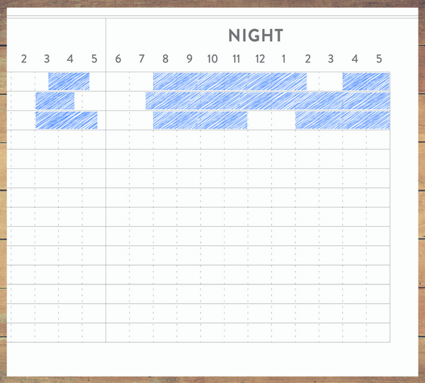 Bi-Weekly Baby Sleep Tracker