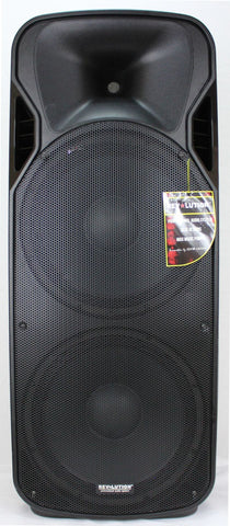 "BAF-20306 RV-F215U Dual 15"" Powered P.A. Speakers"