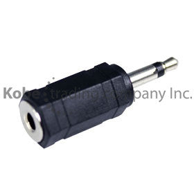 ADA-10115 Audio Adapter 3.5 mm Mono Plug to 3.5 mm Stereo Jack - KobeUSA