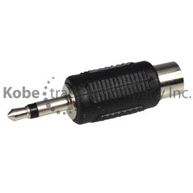 ADA-10130M Audio Adapter 3.5 mm Mono Male to RCA Female - KobeUSA