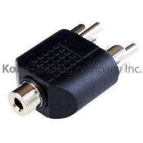 ADA-10320 Adapter 3.5mm Stereo Jack to 2-RCA Plugs