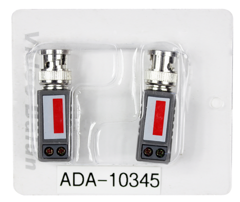 ADA-10345 BNC Video Balun Transciever for CCTV - KobeUSA