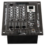 AMP-40110 RV-DJ3U 3CH DJ Mixer with USB/SD player - KobeUSA