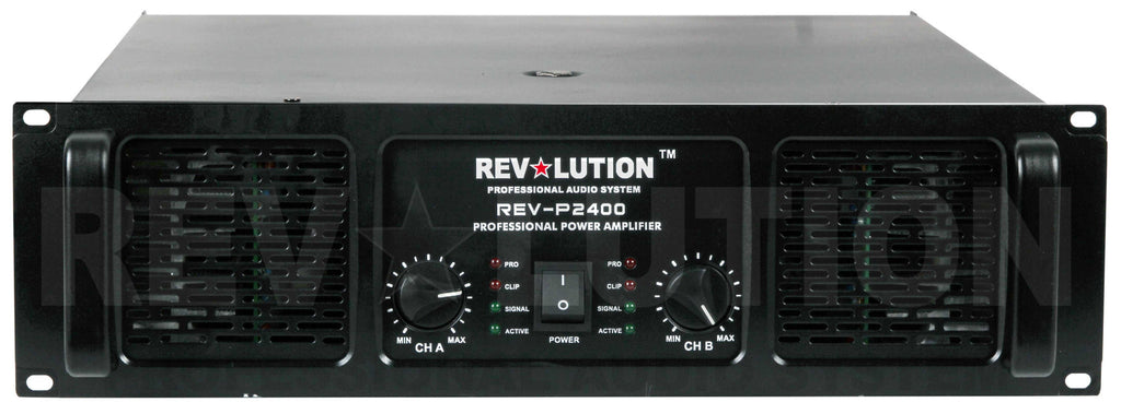 AMP-40170 RV-P2400 Stereo Power Amplifier - KobeUSA