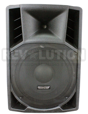 "BAF-20296 RV-F12UFM 12"" Powered P.A. Speakers - KobeUSA"