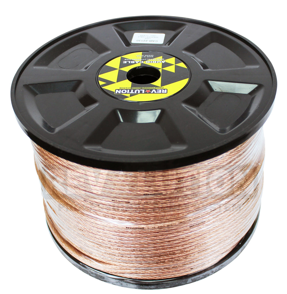 CAB-22130 Speaker Cable Clear - KobeUSA