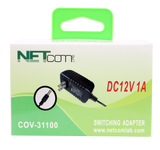 COV-31100 SWITCHING ADAPTER AC110-240V 50/60Hz