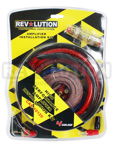 CAR-10120 4 AWG Power Installation Kit - KobeUSA