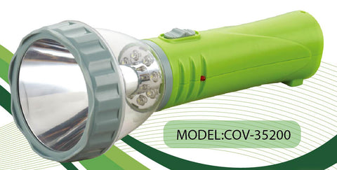 COV-35200 Rechargeable Torch - KobeUSA