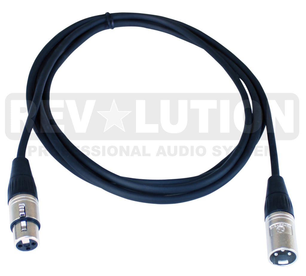 EXT-20100 Microphone Cable Balanced with Ningbo Neutrik Connectors - KobeUSA